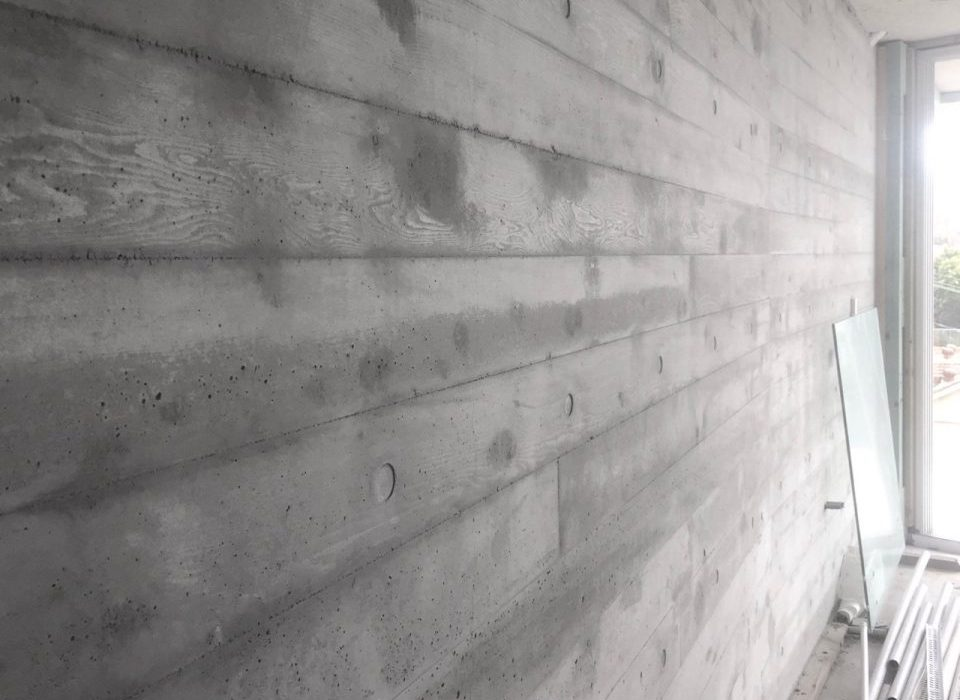 Board Formed Concrete by Design Tribe Projects - Bronte Architects and Builders